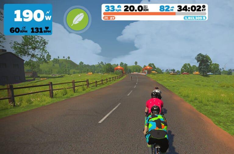 Tag en tur på de franske landeveje med Zwift.