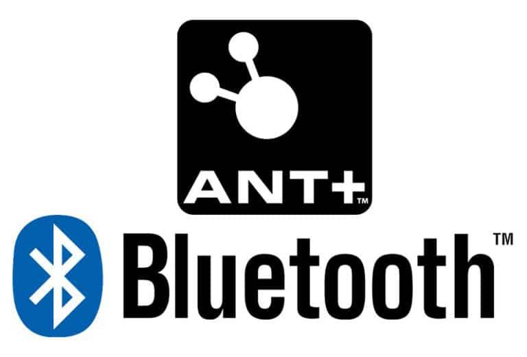 Bluetooth og Ant+ forbindelse til hometrainer.